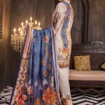 Aalaya V16-09 Lawn 3pc Suit