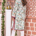 MTF Embroidered Printed Lawn Kurti d-3a