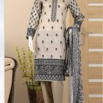 Malhaar Embroidery Collection d-01 Lawn 3pc Suit