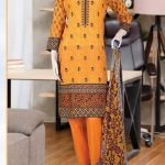 Malhaar Embroidery Collection d-09 Lawn 3pc Suit