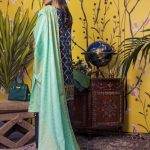 Banarsi v5-10 Lawn 3pc Suit
